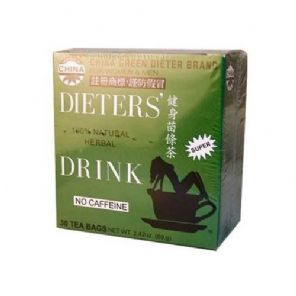 Uncle Lee Dieters' Drink Chinese Green dieter brand Herbal tea 30 Tea Bags